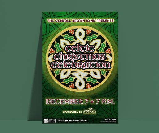 Celtic Christmas Celebration Poster