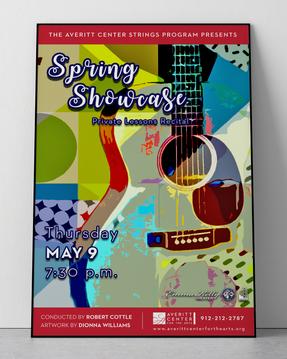 Spring Showcase Poster