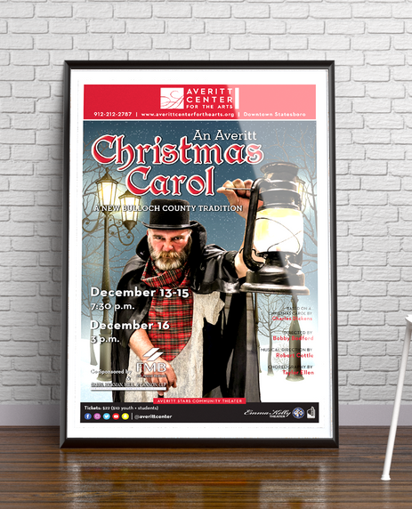 An Averitt Christmas Carol Poster
