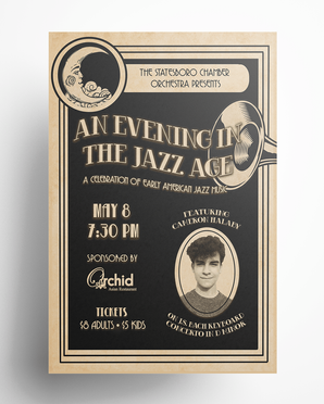An Evening in the Jazz Age Poster