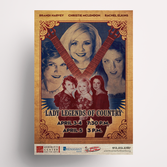 Lady Legends of Country Poster
