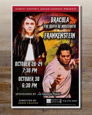 Dracula Frankenstein Poster