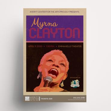 Myrna Clayton Poster