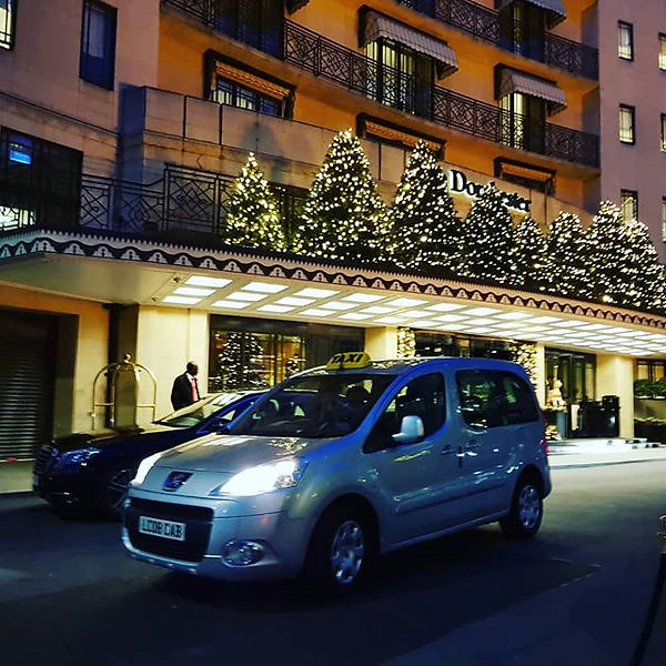 One of our drivers at the dorchester hot