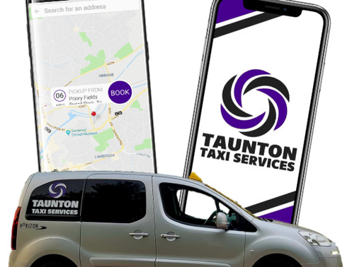 A taxi app for Taunton provided by Taunton Taxi Services - your local, family owned taxi service