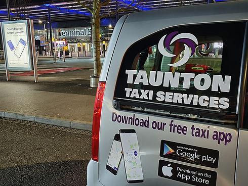 Airport transfers Taunton, Bristol Airpo