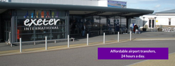 exeter airport transfers, book a taxi, t