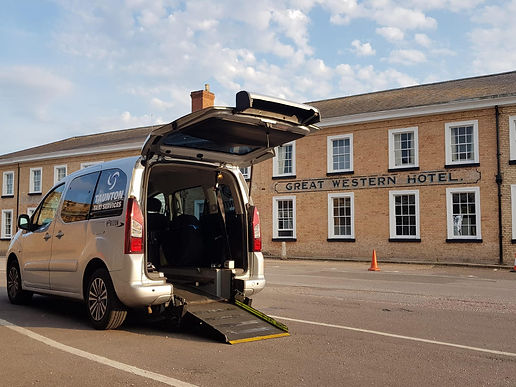 wheelchair taxi services by taunton taxi