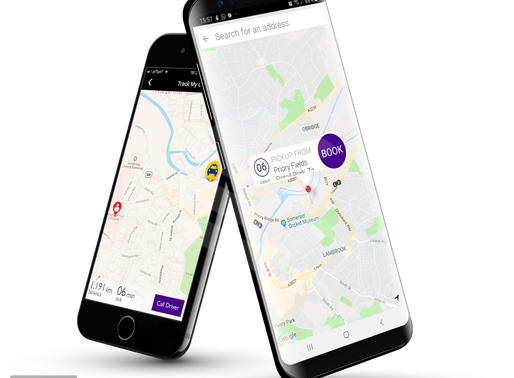 Your 3 tap taxi app for Taunton - Taunton Taxi Services