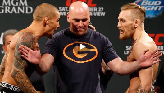 UFC - MCGREGOR V POIRIER :: LG (TEAM GENIUS)