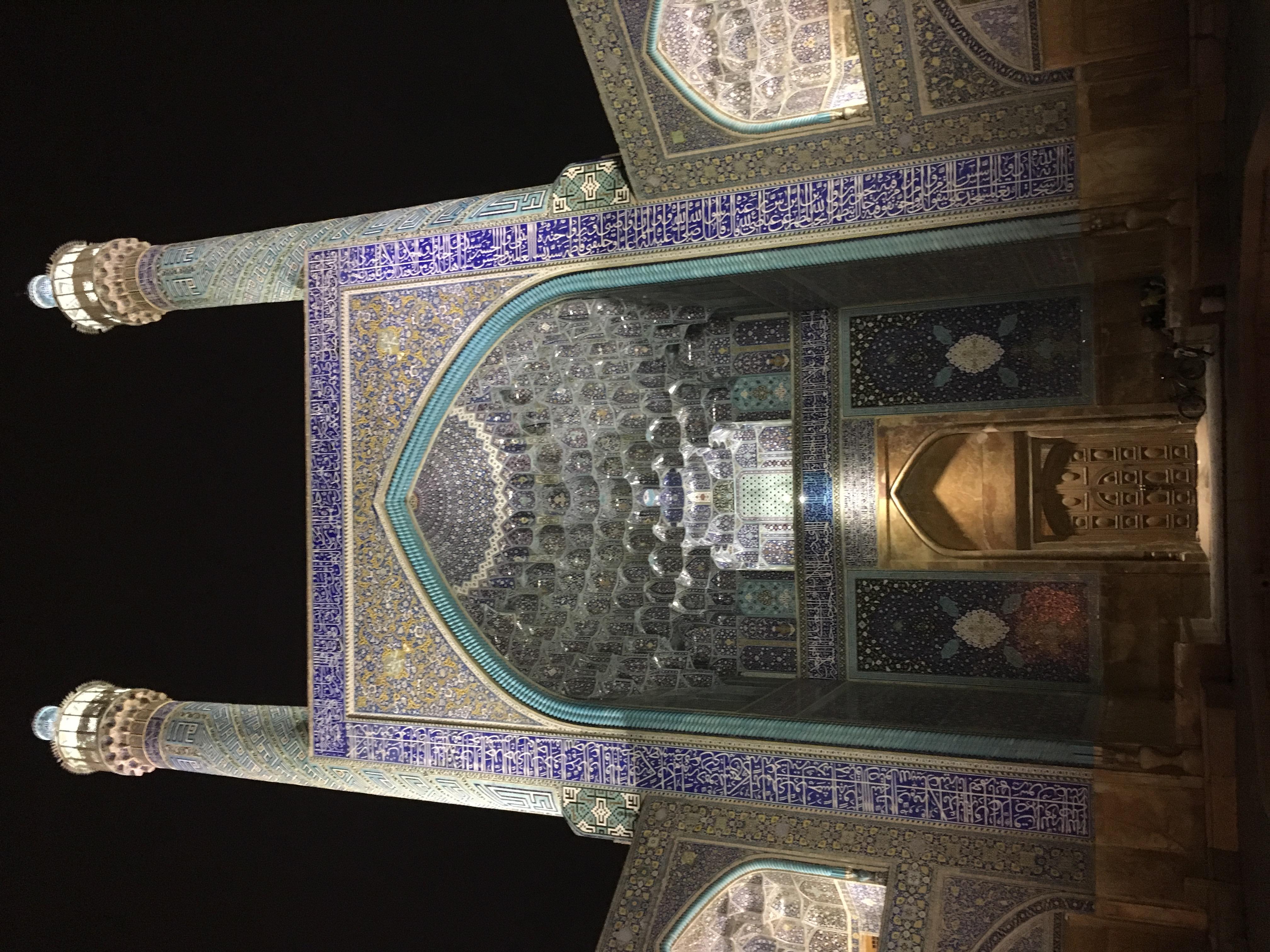 Isfahán - proslulá architektura