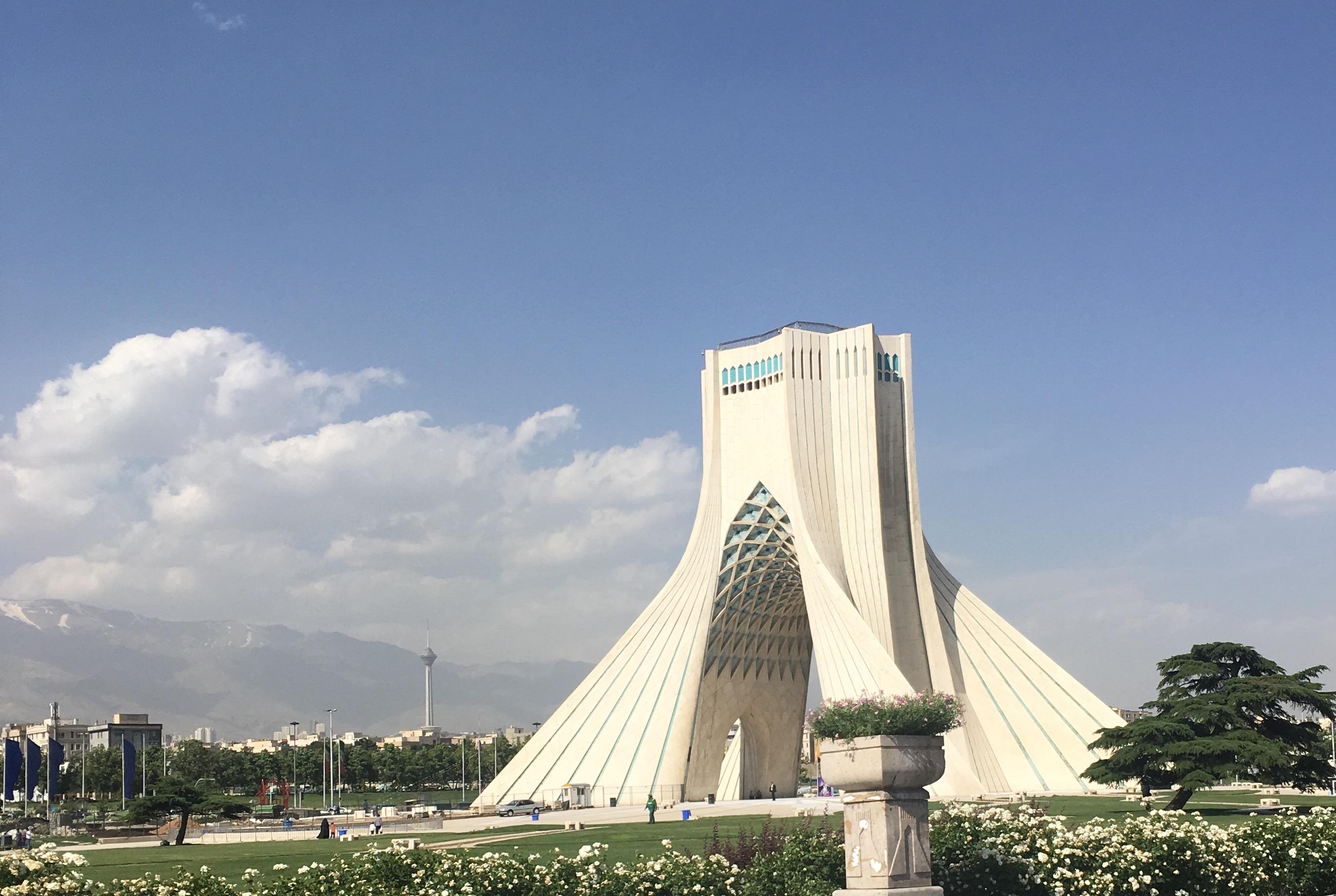 Teherán, symbol města