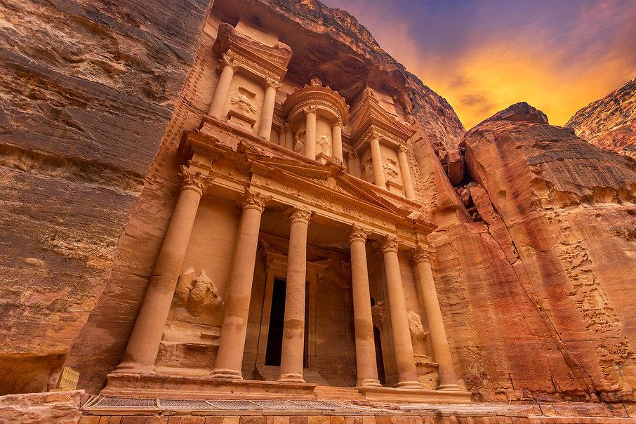 CK HAMIDI - poznávací zájezdy do Jordánska: Pokladnice, Petra