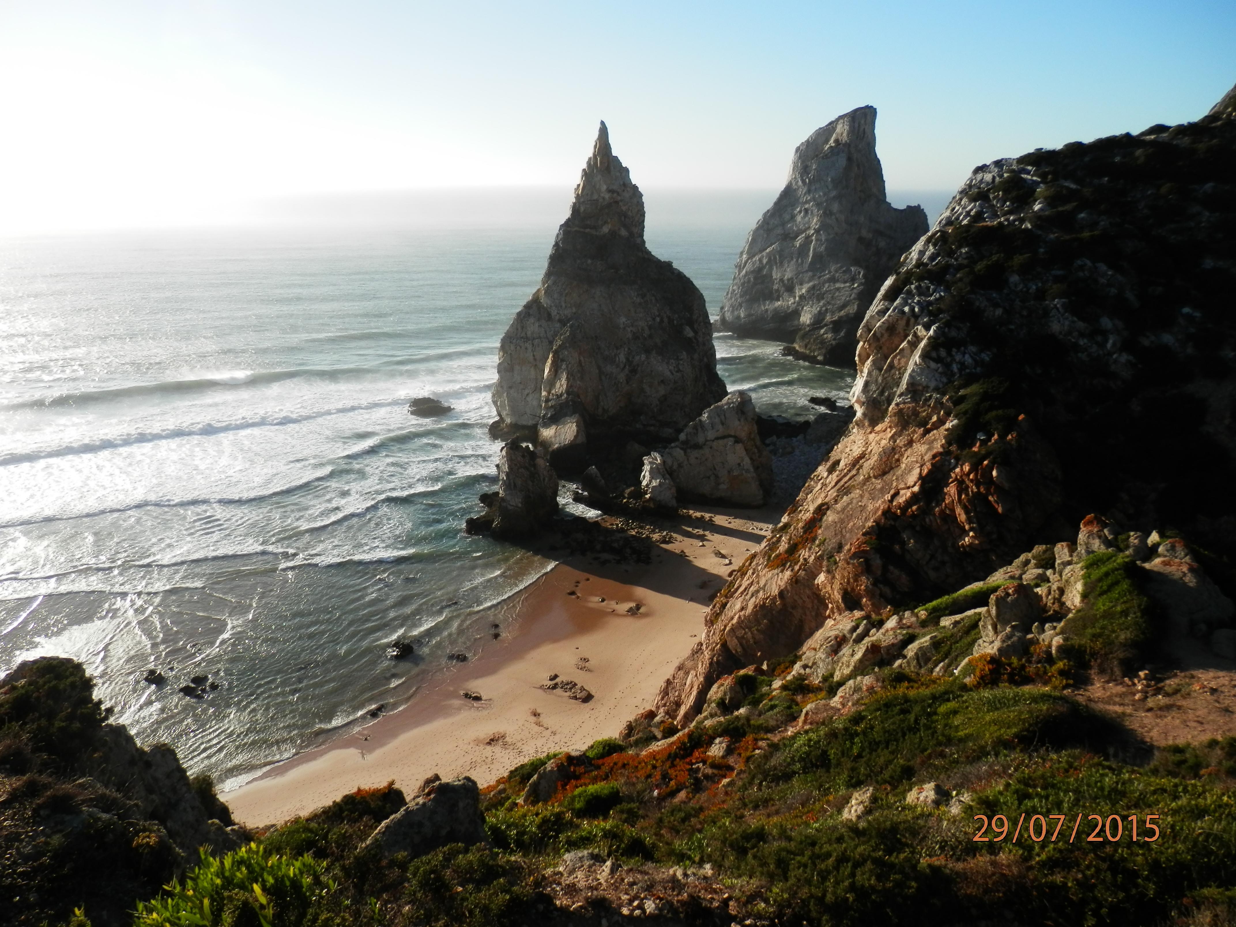 Pláž u Cabo da Roca