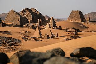 CK HAMIDI Pyramidy Meroe