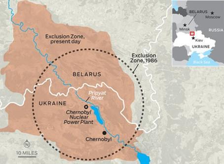 Od výbuchu Černobylu uplyne 30 let, jak to tam teď vypadá? Část I.