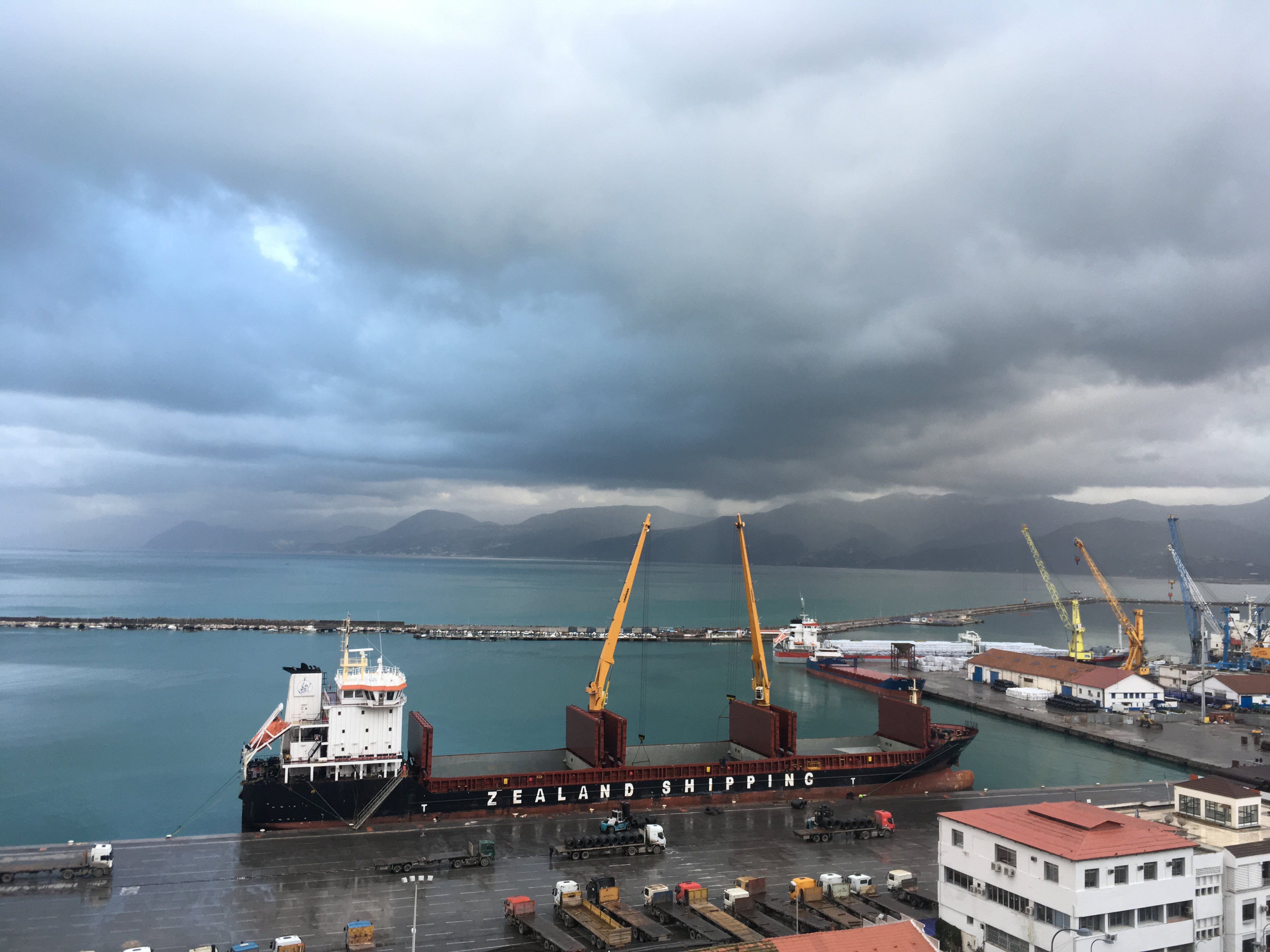 Bejaia přístav