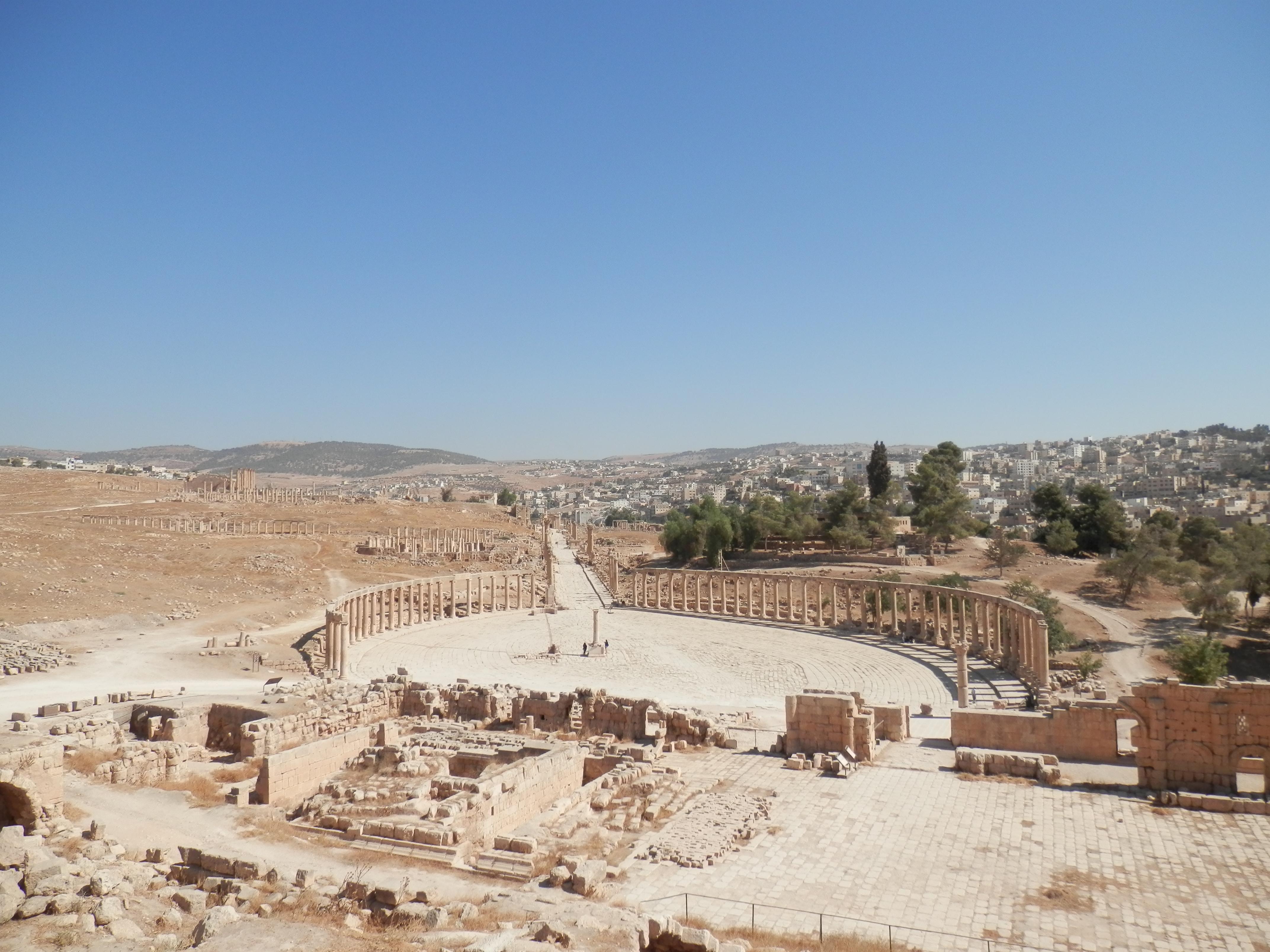 Římský Jerash, památka UNESCO