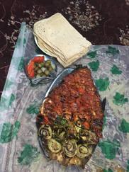 CK HAMIDI - Velký okruh Íránem grilovaná ryba