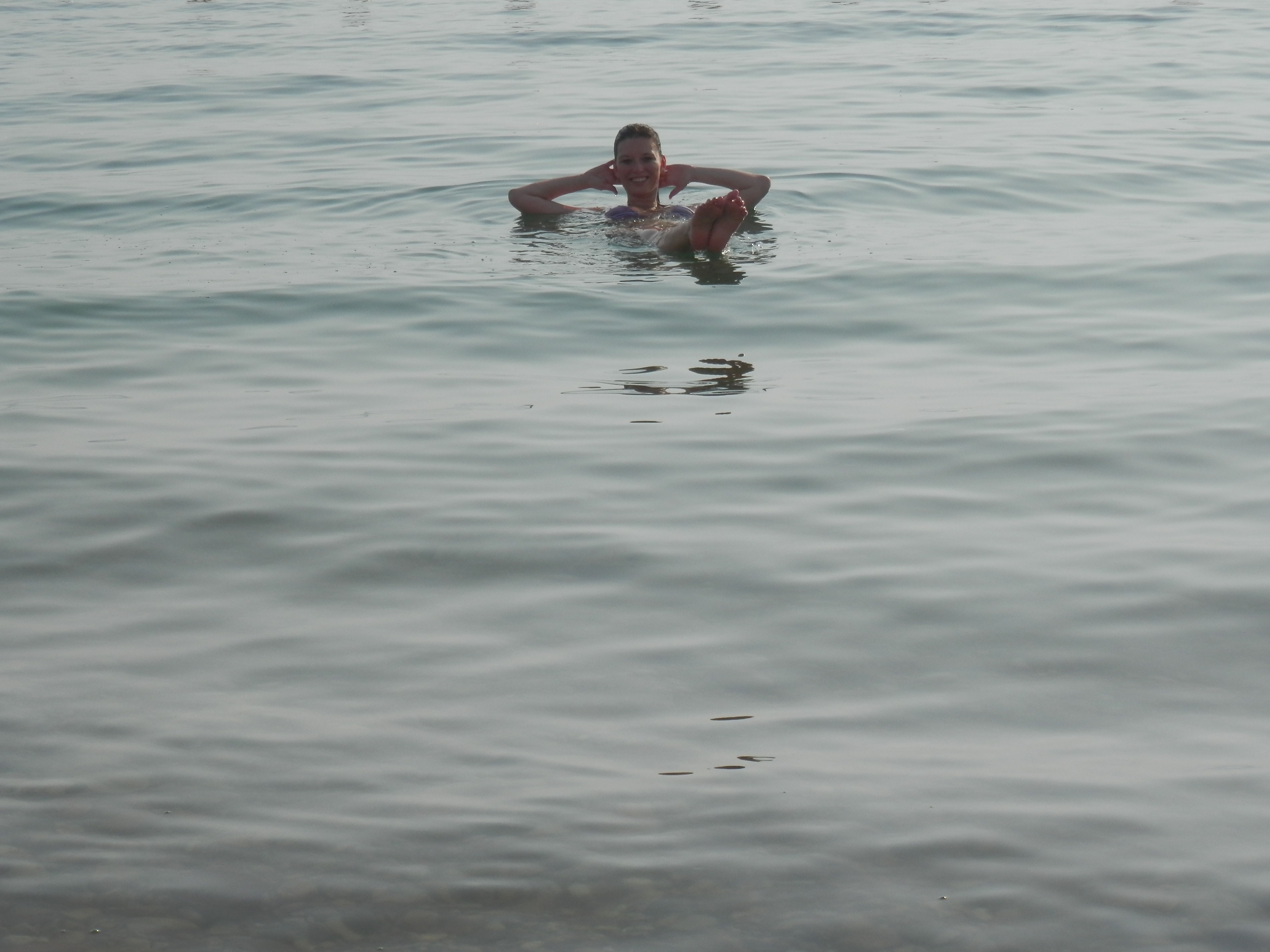 Koupání v Mrtvém moři