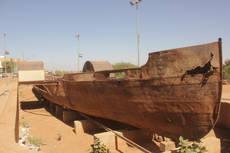 CK HAMIDI: Súdán Chartúm - tradiční loď