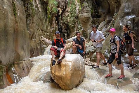 CK HAMIDI - Turistické a outdoorové zájezdy:Wádí bin Hammád
