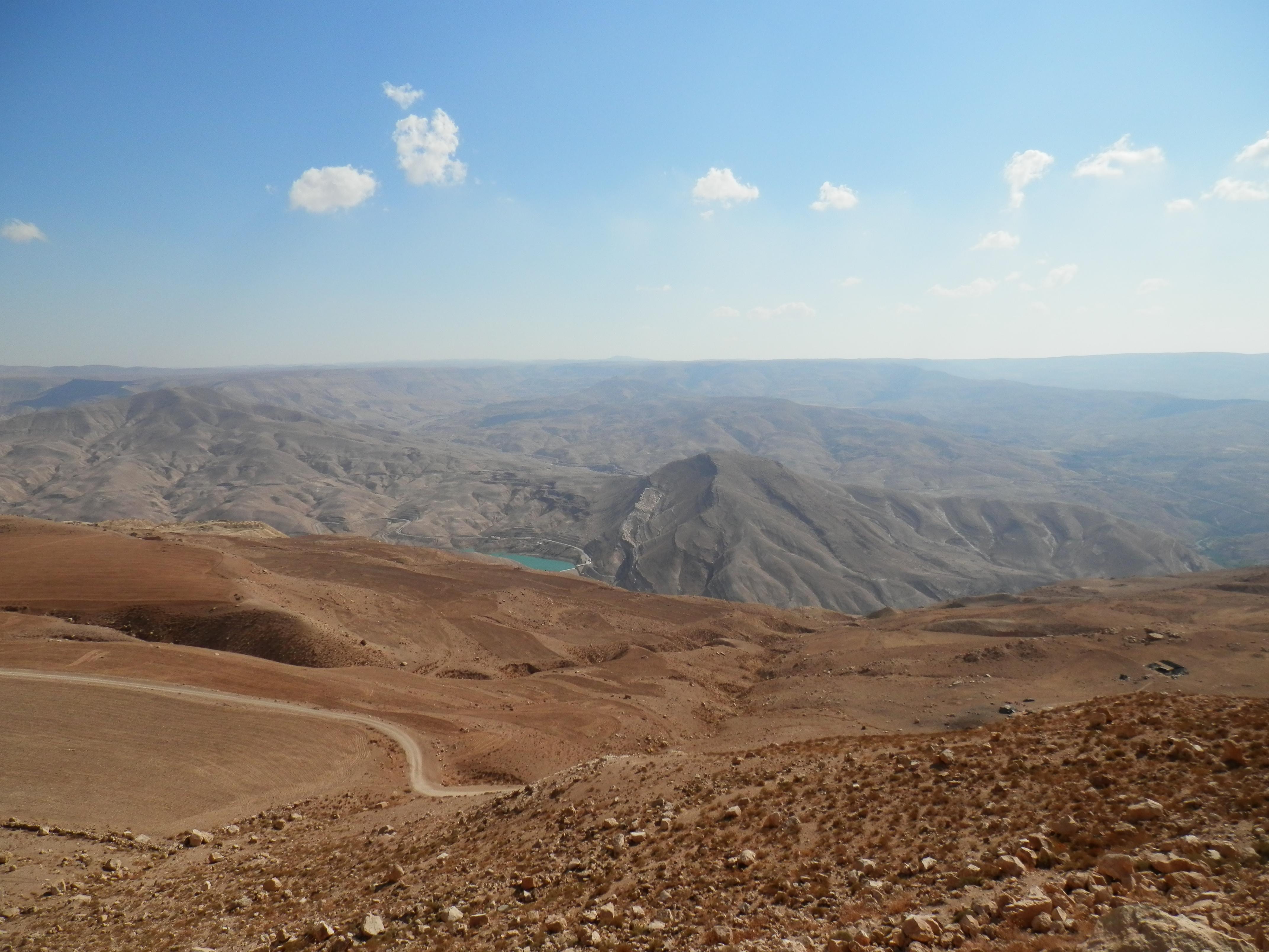 Poušť jižního Jordánska