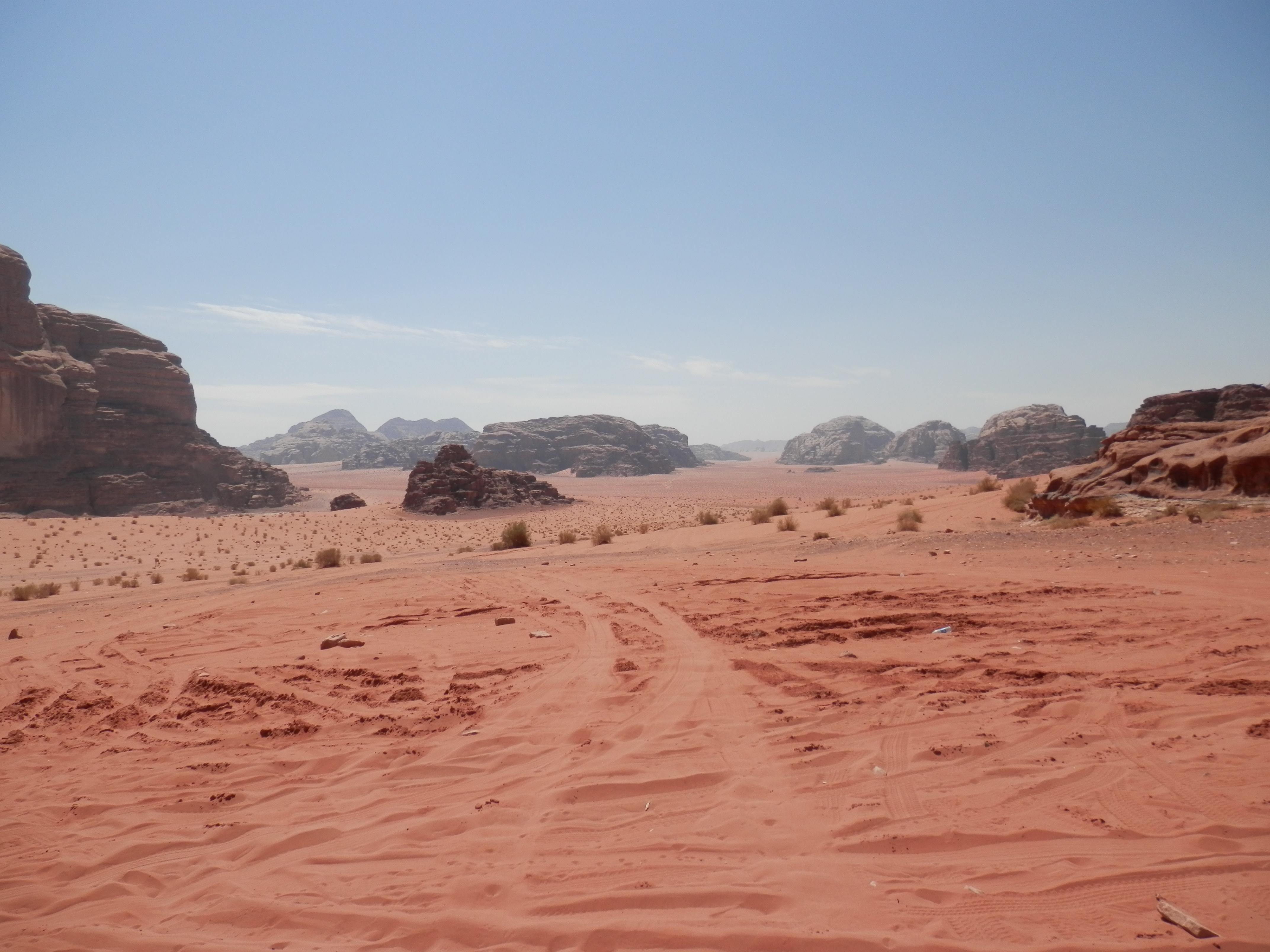 Den v poušti