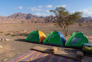 CK HAMIDI outdoorový zájezd do Jordánska: Tábořiště Wádí Malaga