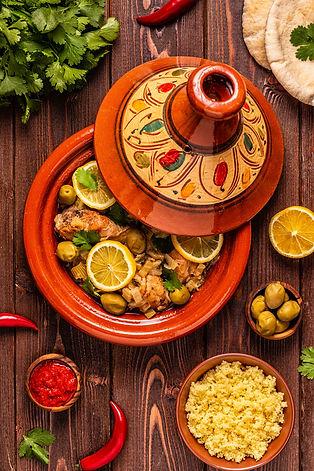 CK HAMIDI Marocká kuchyně: tradiční tažín
