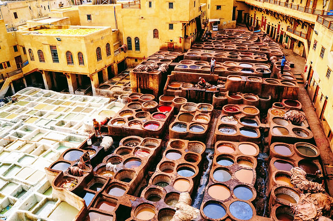 Tanneries, Medina of Fez, Morocco.jpg