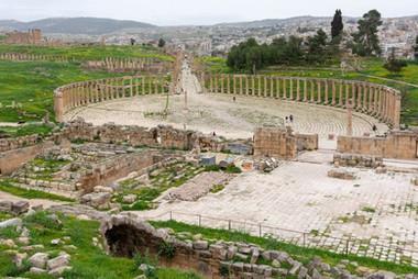 Sloupové náměstí Jerash