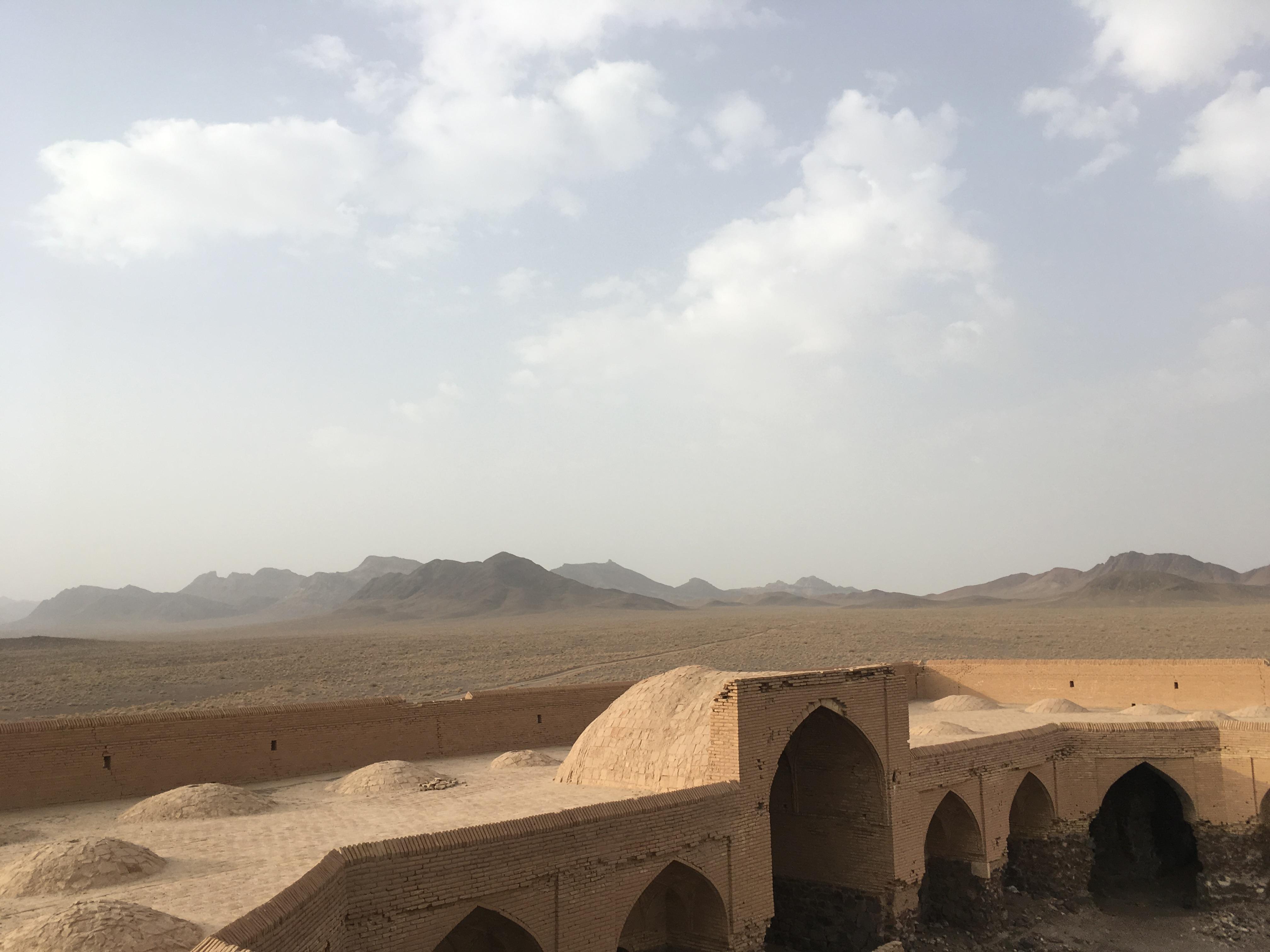 Odpočinek pro pouštní karavany
