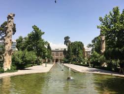 CK HAMIDI To nejlepší z Íránu: Zahrady v Kašánu