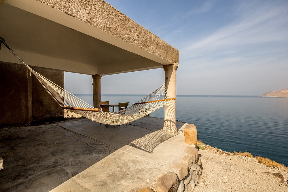 CK HAMIDI: ubytování u Mrtvého moře v Mujib Chalets