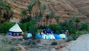CK HAMIDI - Adrenalin v Antiatlasu: tábořiště