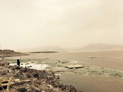 Slané jezero Urmia