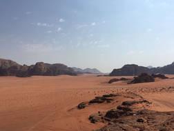 CK HAMIDI outdoorový zájezd do Jordánska: Wádí Rum