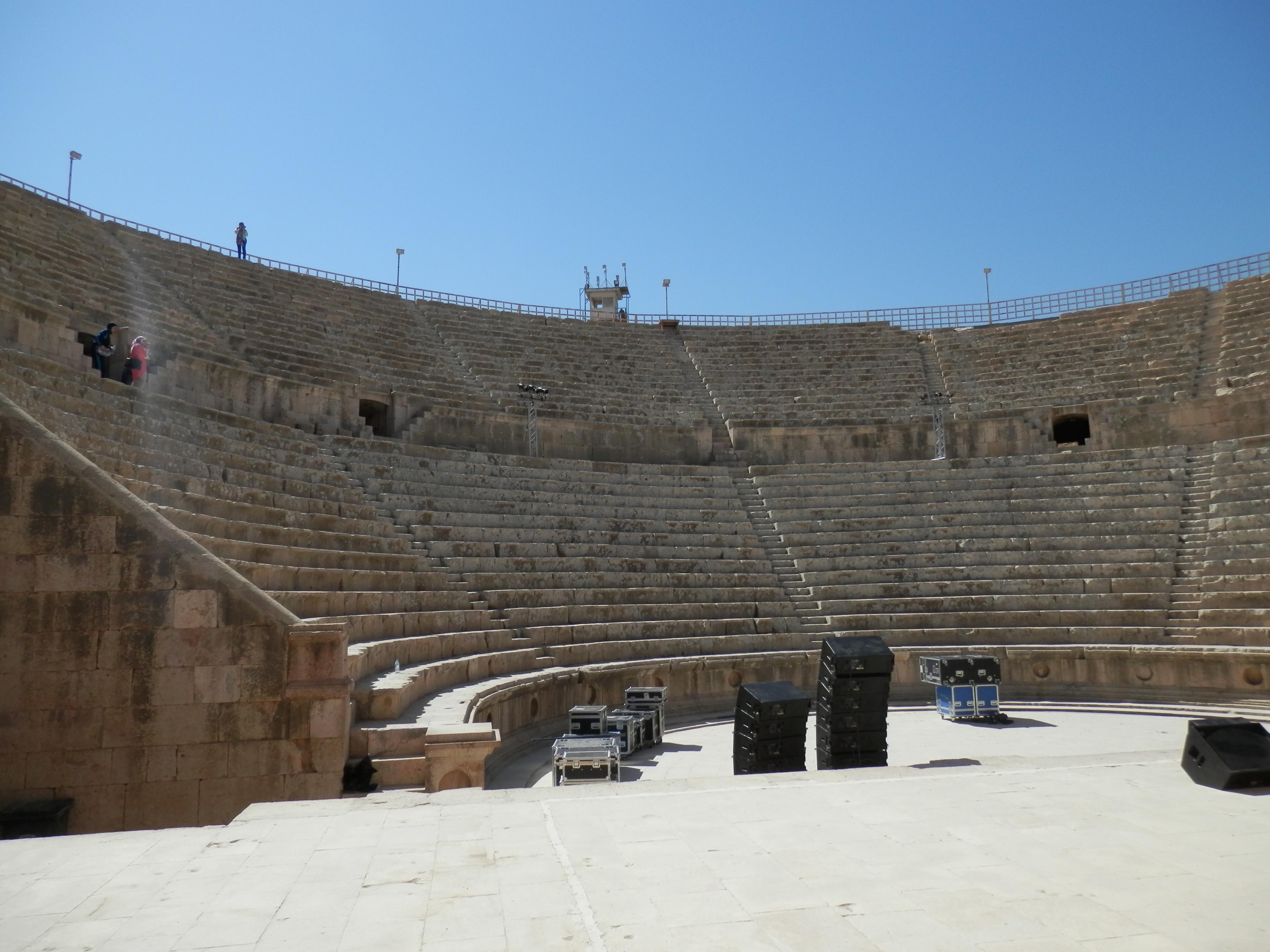 Amfiteátr v Jerashi