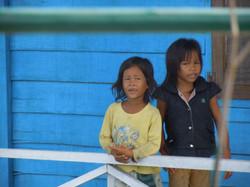 Obyvatelky plovoucí vesnice