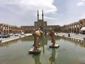 CK HAMIDI - Velký okruh Íránem náměstí v Yazdu