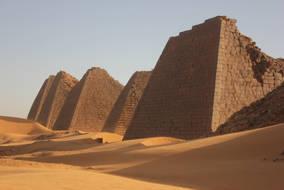 CK HAMIDI: Súdán, pyramidy Meroe