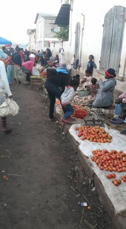 Trhy ve Fianarantsoa
