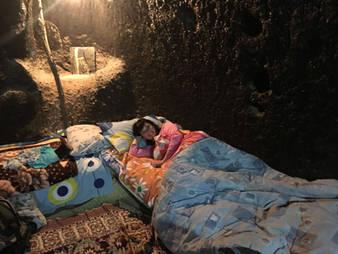 CK HAMIDI To nejlepší z Íránu: Ubytování v jeskynním domě, Maymand
