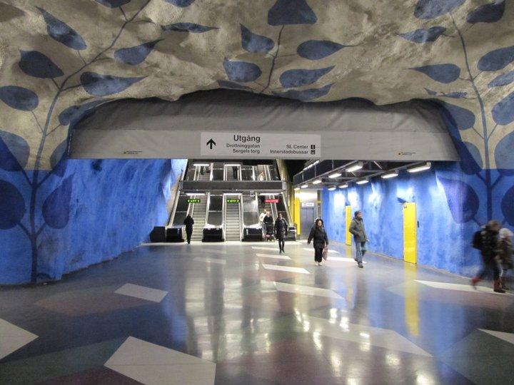 Stockholmské_metro