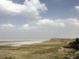 CK HAMIDI - Velký okruh Íránem jezero Umría