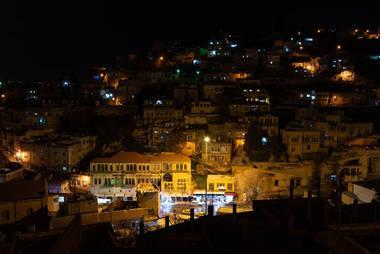 CK HAMIDI poznávací zájezd do Jordánska: Noční Salt