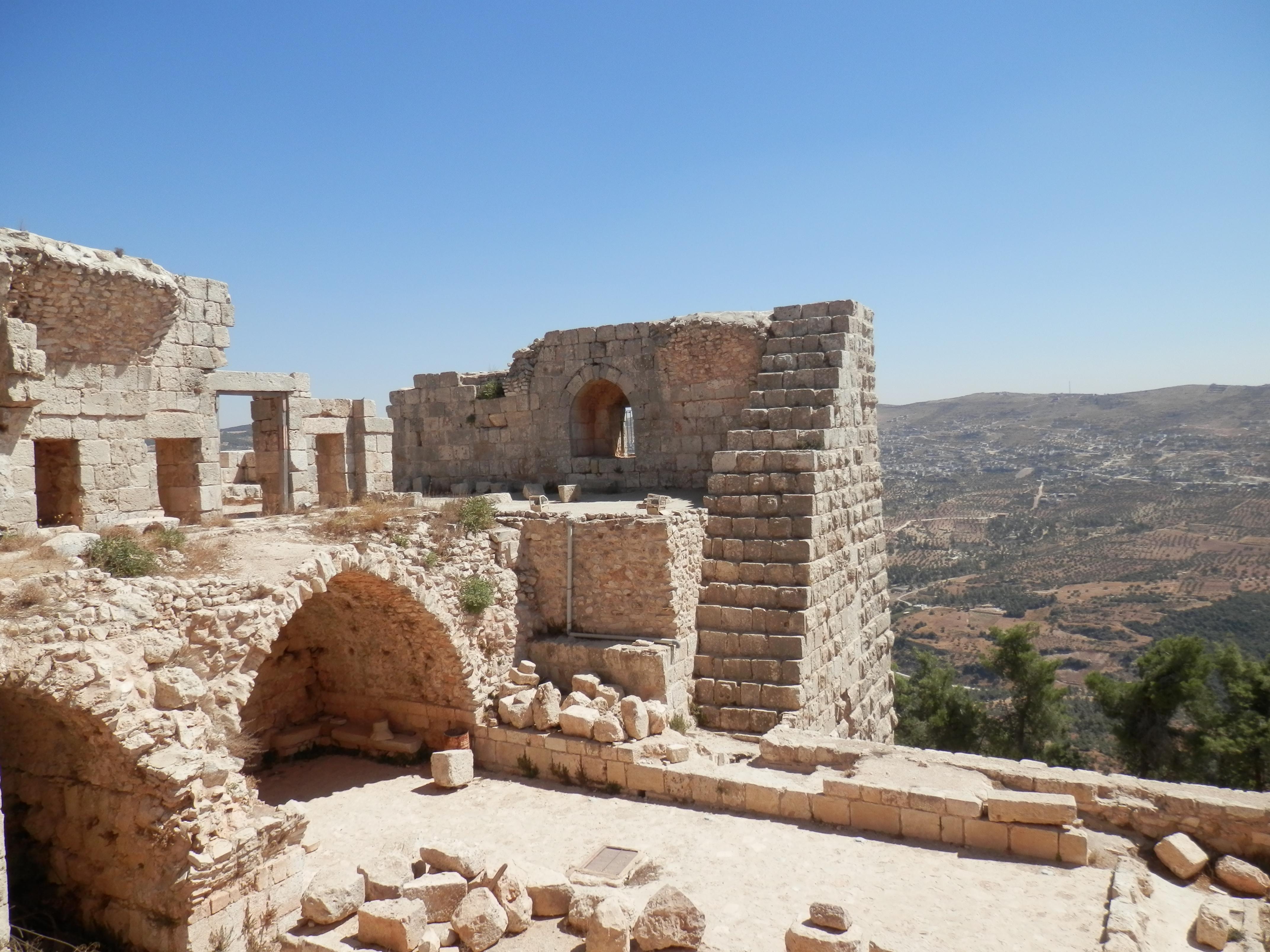 Muslimský hrad Ajlun
