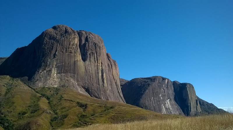 Hory v národním parku Andringitra