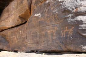 CK HAMIDI: Súdán - skalní malby